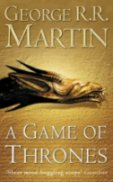 Cover of the first book, A Game Of Thrones